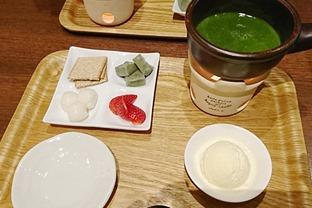 saryo's-cafe-抹茶フォンデュ